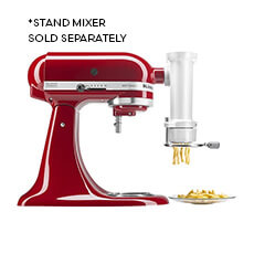 Gourmet Pasta Press w/ 6 Plates Attachment