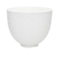 <b>KitchenAid</b> Mermaid Lace Ceramic Bowl for Tilt-Head Stand <b>Mixer</b> 4.7L
