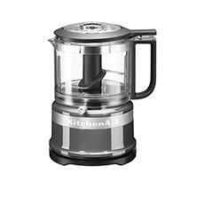 <b>KitchenAid</b> 3.5 Cup Mini <b>Food</b> Chopper Contour Silver