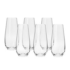 Harmony Stemless Flute 230ml Set of 6