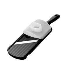 Double-Edged Mandolin Slicer w/ Handguard Black
