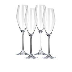 <b>Le Creuset</b> Flute <b>Glass</b> 265ml Set of 4