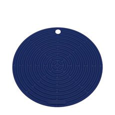 <b>Le Creuset</b> Silicone Cool Tool Round Mat 20cm Marseille Blue