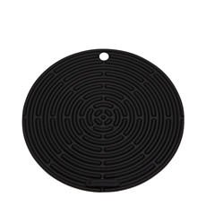 <b>Le Creuset</b> Silicone Cool Tool Round Mat 20cm Satin Black