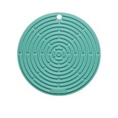Le Creuset <b>Silicone</b> Cool Tool Round <b>Mat</b> 20cm Cool Mint