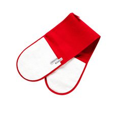 Double Oven Glove Cerise