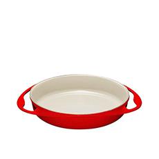 <b>Le Creuset</b> Cast Iron Tarte Tatin Dish 25cm - 1.8L Cerise
