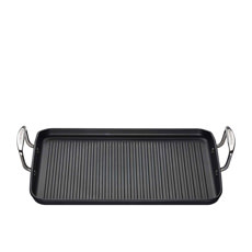 Toughened Non-Stick Rectangular Grill 34cm