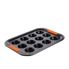 Toughened Non Stick Mini Muffin Tray 12pc