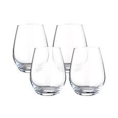 Water Tumbler Glass 415ml Set of 4