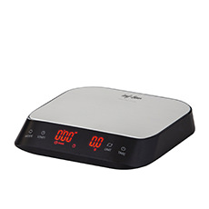 Electronic Precision Coffee Scale with Timer 3kg Black
