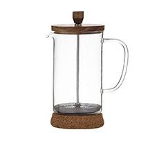 Leaf & Bean Naples Coffee Press w/ Acacia Lid & Cork Base 900ml