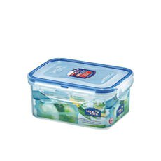Lock & Lock Classic Rectangular Short <b>Container</b> 600ml