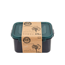 Lock & Lock Eco Rectangular Short <b>Container</b> 470ml