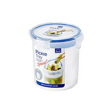 Lock & Lock Special Round <b>Container</b> with Draining Basket 700ml