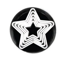 Loyal Star <b>Cookie Cutters</b> Set of 6