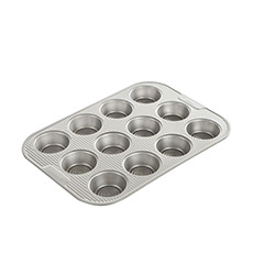 FloBake Non-Stick 12 Cup Muffin Pan 39x27.5x3cm