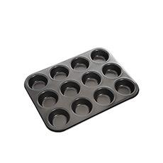 Non-Stick 12 Cup Muffin/Cupcake Pan 35x27cm