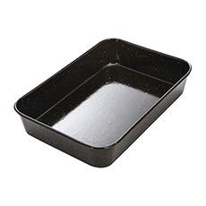 MasterPro Professional Vitreous Enamel <b>Roasting Pan</b> 40x28x7.5cm