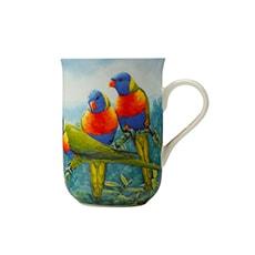 Maxwell & Williams Birds of Australia Katherine Castle <b>Mug</b> 300ml Lorikeet