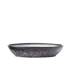 <b>Maxwell</b> & <b>Williams</b> Caviar Granite Oval <b>Bowl</b> 25x17cm