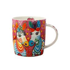 Maxwell & Williams Love Hearts <b>Mug</b> 370ml Zig Zag Zebras