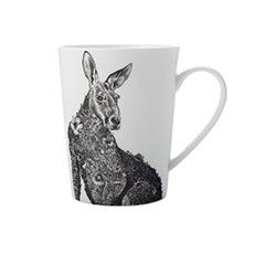 Maxwell & Williams Marini Ferlazzo <b>Mug</b> 450ml Red Kangaroo