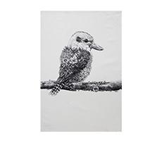 Marini Ferlazzo Tea Towel 50x70cm Kookaburra