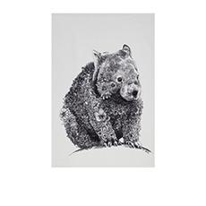 Marini Ferlazzo Tea Towel 50x70cm Wombat