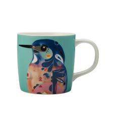 Maxwell & Williams Pete Cromer <b>Mug</b> 375ml Azure Kingfisher