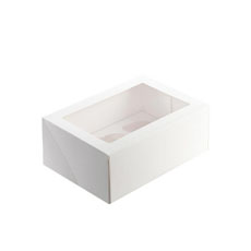Cupcake Box  6 Cup 25x17cm