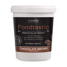 Premium Rolled Fondant Chocolate Brown