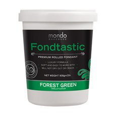 Premium Rolled Fondant Forest Green