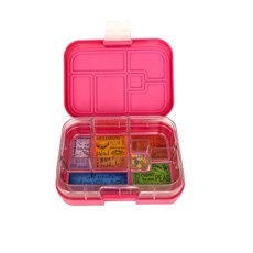 Munchbox Maxi 6 Bento <b>Box</b> Pink Princess