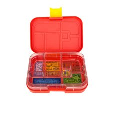 Munchbox Maxi 6 Bento <b>Box</b> Red Lava