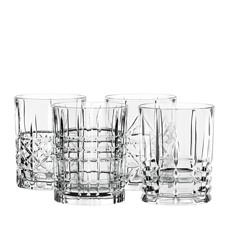Highland Mixed Glass Tumblers 345ml Set of 4