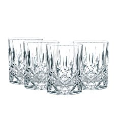 Noblesse Whiskey Tumblers 295ml Set of 4
