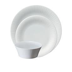 Noritake Conifere 12pc <b>Dinner</b> Set White