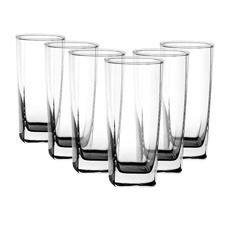 Plaza Hi-Ball Glass 405ml Set of 6
