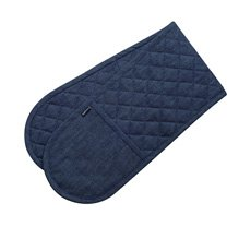 Denim Double Ended Mitt Barbecue Wear