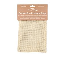 Eco Kitchen Cotton Produce Bags S/3 Med