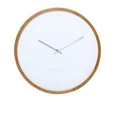 Freya Silent Wall Clock 35cm White