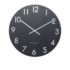 Jackson Silent Wall Clock 30cm Black