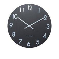 One Six Eight London Jackson Silent Wall Clock 30cm Black