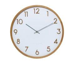 Scarlett Silent Wall Clock 35cm White