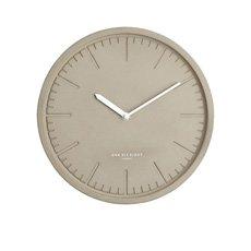 Simone Silent Wall Clock Concrete 30cm
