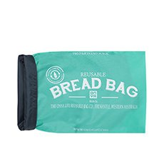 Reusable Bread Bag Aqua