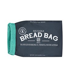 Reuseable Bread Bag Charcoal