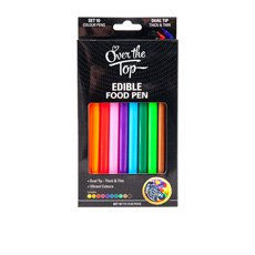 Edible Food Pen Colour set of 10