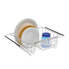 Polder Expandable In-Sink <b>Dish</b> Rack